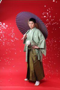 成人式男紋服袴