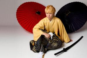 成人式男紋付袴